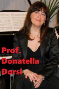 Maestra Donatella Dorsi
